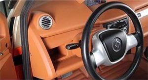 Електромобили Linzda - купе и интериор