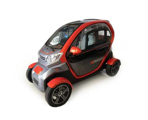 Електромобил CKOT, цвят червен